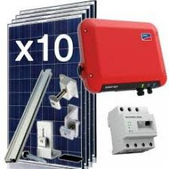 Grid Tied PV Kit 2500W
