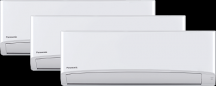 3x1 Panasonic Inverter Multy split