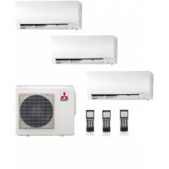 3x1 Mitsubishi Inverter Multy Split