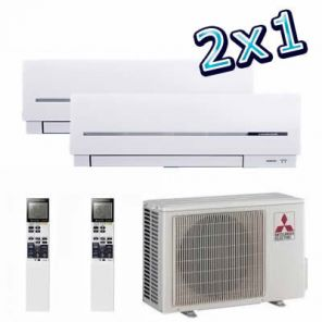 2x1 Mitsubishi Inverter Multy Split