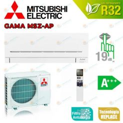 Mitsubishi Electric MSZ-EF42VGK-B WORKS WITH AMAZON ALEXA